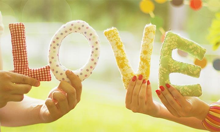 буквы любовь