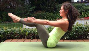 йога для похудения живота для начинающих