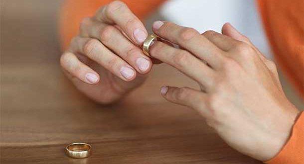 развод - снять кольца